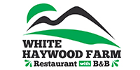 White Haywood Farm Logo
